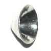 Bead Caps Silver 4X9mm
